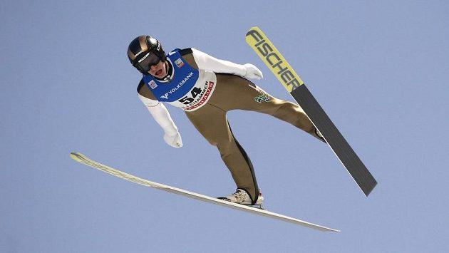 Skokan na lyžích Roman Koudelka