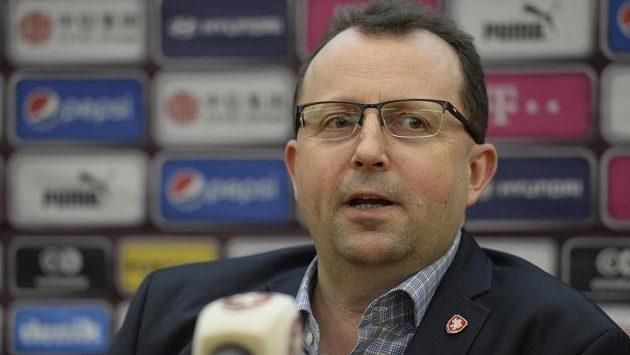 Předseda Fotbalové asociace ČR Martin Malík.