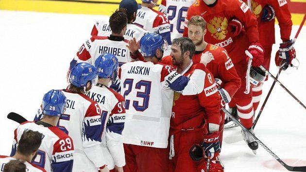 Konec. Český tým skončil na MS čtvrtý, Rusové třetí.