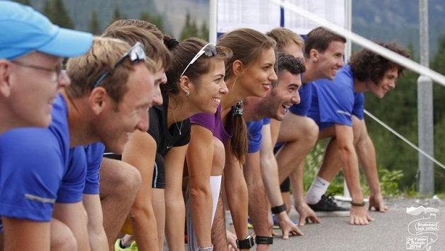 Štafetový běh - jeden za všechny a všichni do cíle!