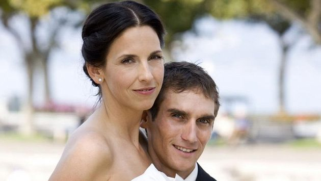Roman Kreuziger si vzal za ženu snoubenku Míšu.