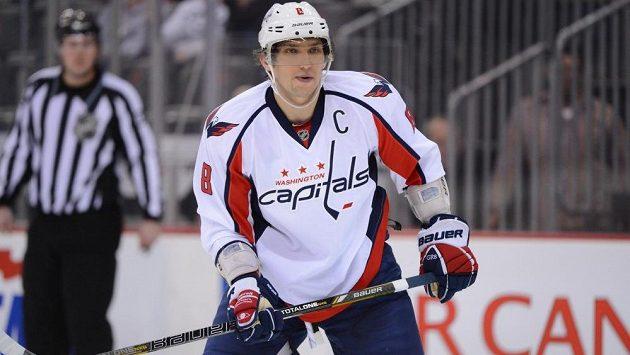 Vyhlášený ostrostřelec Alexandr Ovečkin se v úvodu sezóny NHL zatím trápí.