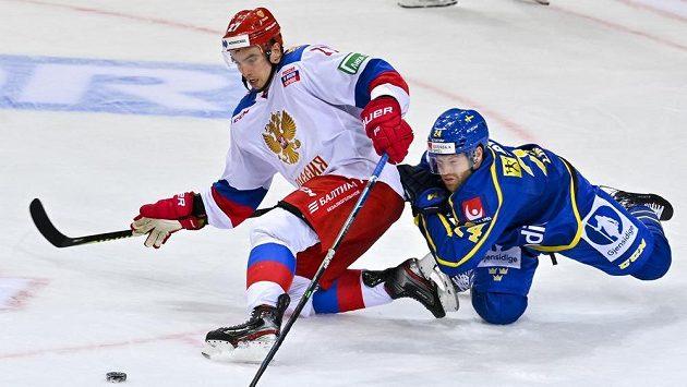 Zleva Igor Ožiganov z Ruska a Oscar Lindberg ze Švédska.