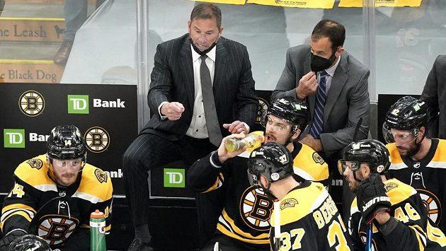 Trenér hokejistů Bostonu Bruce Cassidy.
