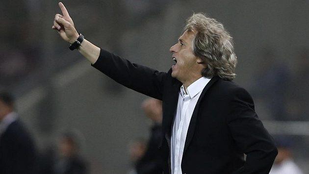Jorge Jesus, trenér fotbalistů Benfiky Lisabon.