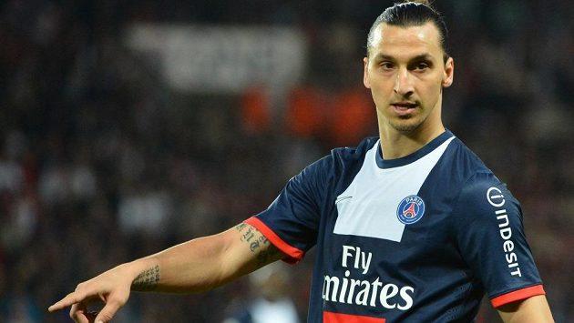Útočník Zlatan Ibrahimovic v dresu PSG. Bude ho oblékat i v následující sezóně?