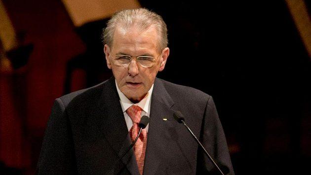 Prezident Mezinárodní olympijské federace Jacques Rogge.