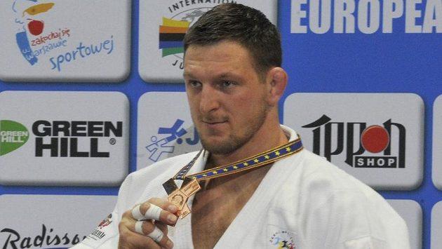 Judista Lukáš Krpálek získal bronzovou medaili v kategorii nad 100 kilogramů.