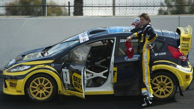 Marcus Grönholm bude v letošním roce startovat v rallyekrosovém seriálu v USA