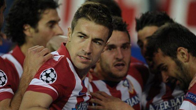 Kapitán fotbalistů Atlétika Madrid Gabi má co vysvětlovat.