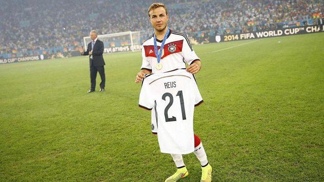 Mario Götze si vzpomněl i na kamaráda Marka Reusse, který o MS pro zranění přišel. Sejdou se oba v Bayernu?