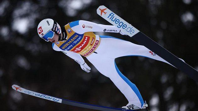 Hvězdný norský skokan Halvor Egner Granerud.