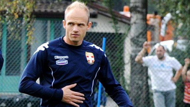 David Jarolím na tréninku Evianu.