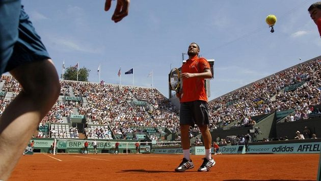 Michail Južnyj na Roland Garros
