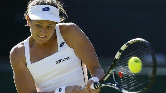 Slovenská tenistka Jana Čepelová se postarala o zatím největší překvapení letošního Wimbledonu.