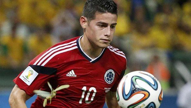 Kolumbijský záložník James Rodríguez figuruje v nominaci na Zlatý míč pro nejlepšího hráče MS v Brazílii.