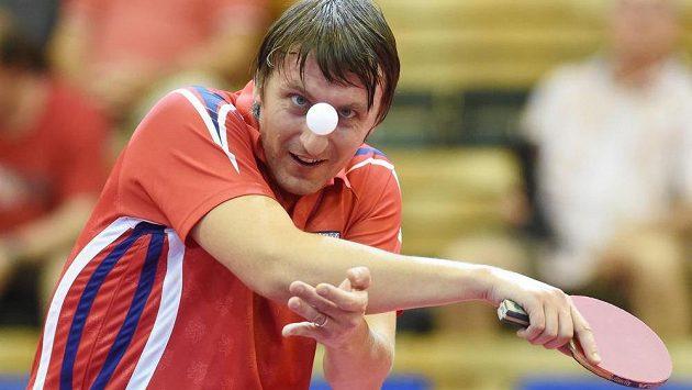 Dmitrij Prokopcov na mezinárodním turnaji série World Tour Czech v Olomouci.