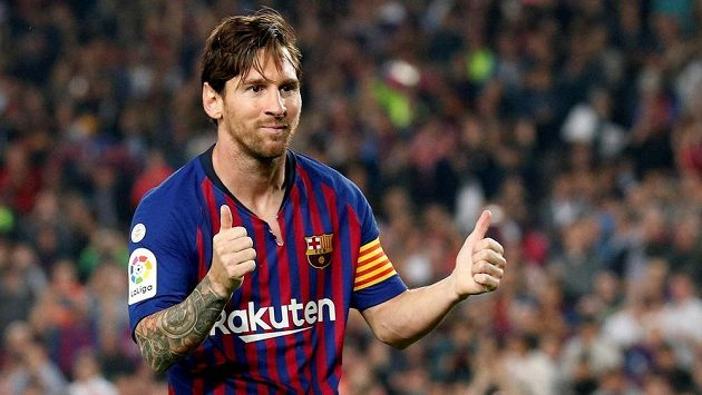 Lionel Messi může svým letadlem vozit 16 pasažérů