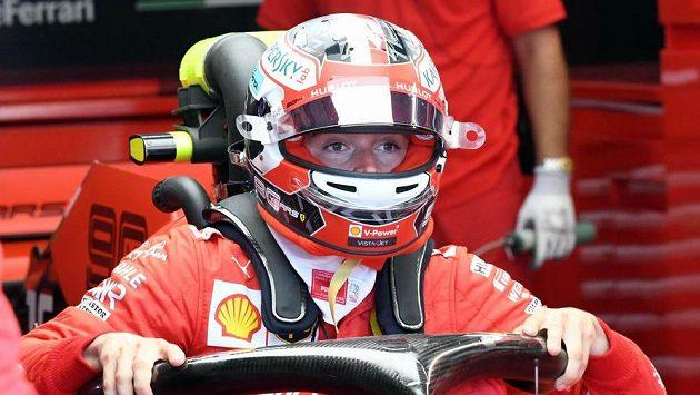 Pilot F1 Charles Leclerc. (ilustrační foto)