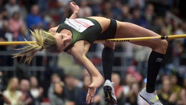 Vítězka mezi ženami Kateryna Tabašnyková z Ukrajiny.