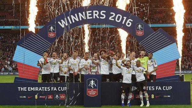 Pohár je náš! Manchester United získal FA Cup...