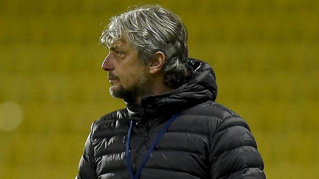 Trenér Mladé Boleslavi Jozef Weber.