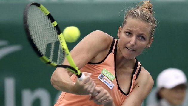 Kristýna Plíšková dohrála na turnaji v Soulu hned v 1. kole.