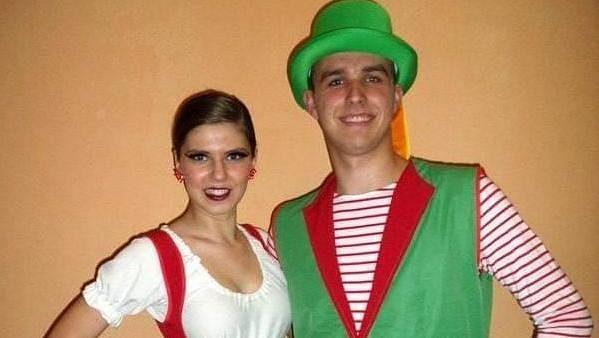 Petr Kodým, třiadvacetiletý hráč týmu Vysočina Gladiators, má tři tituly mistra republiky jako tanečník.
