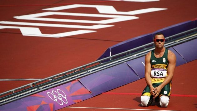 Zklamaný Jihoafrický běžec Oscar Pistorius
