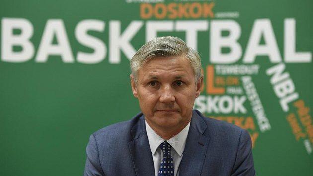 Předseda basketbalové Asociace ligových klubů Tomáš Kotrč.