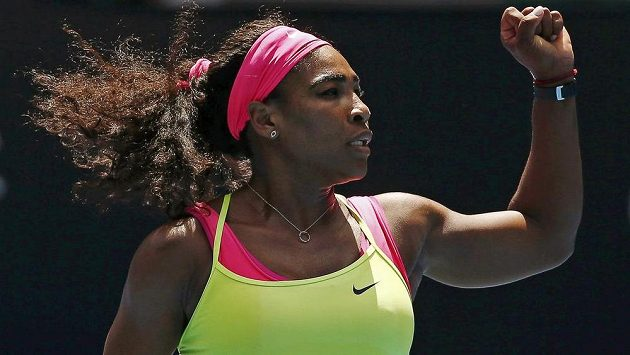 TENIS: Serena Williamsová rozmetala slovenské naděje, Šafářová si v Melbourne zahraje finále čtyřhry