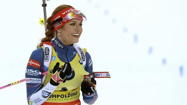 Gabriela Koukalová je největší českou hvězdou na biatlonovém MS v Hochfilzenu