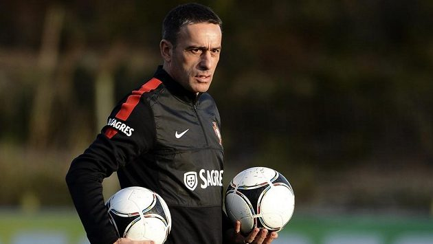 Trenér fotbalistů Portugalska Paulo Bento.