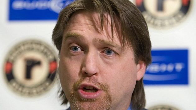 Legenda NHL Patrick Roy.