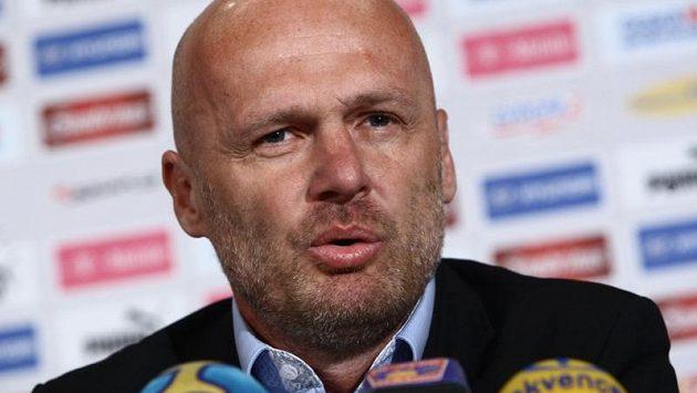Trenér fotbalové reprezentace Michal Bílek