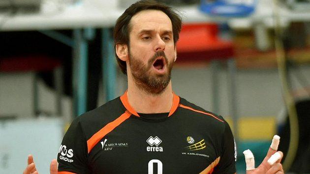 Karlovarský Ondřej Hudeček se raduje.
