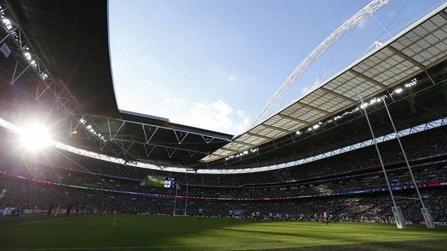 Nedělní zápas Irska s Rumunskem navštívilo ve Wembley přes 89 tisíc lidí.