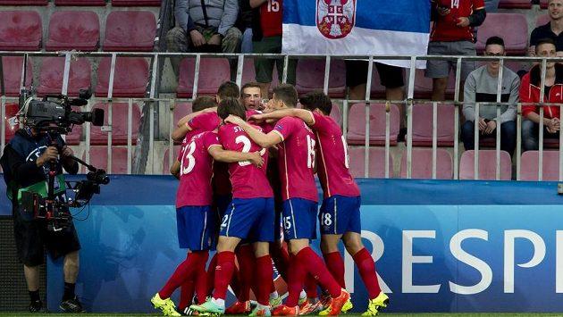 Fotbalisté Srbska - ilustrační snímek