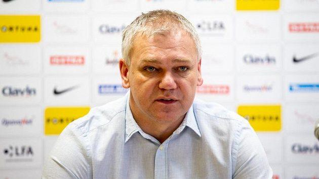 Trenér fotbalistů Opavy Jiří Balcárek.