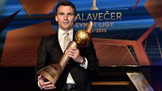 David Lafata, vítěz ankety Zlatý míč.