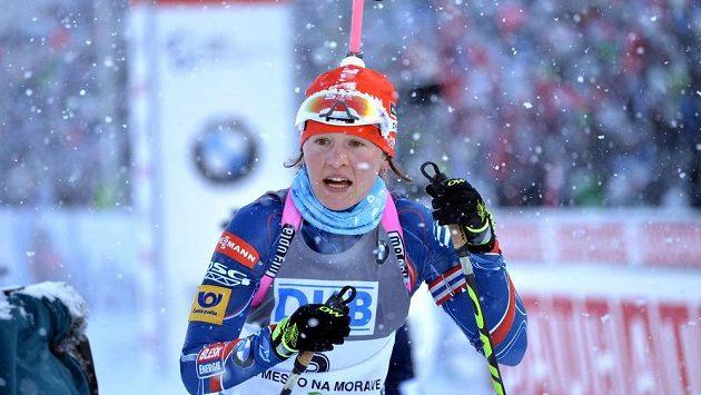 Biatlonistka Veronika Vítková si v uplynulé sezóně vydělala přes tři milióny.
