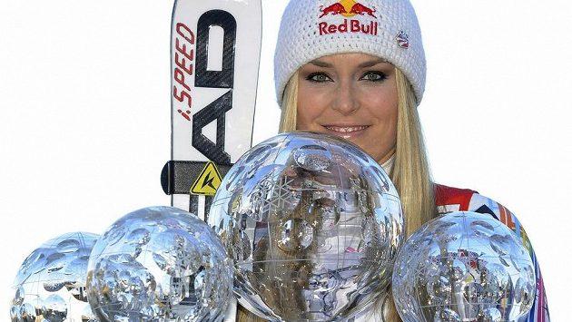 Sběratelka lyžařských úspěchů Lindsey Vonnová