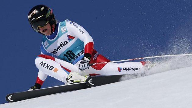 Švýcarka Lara Gutová.