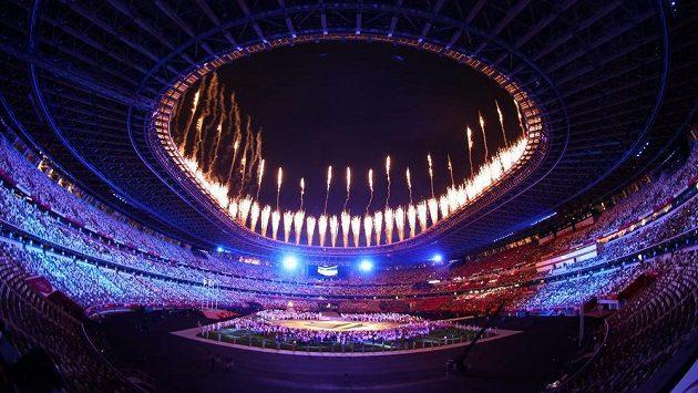Závěrečný ceremoniál he v Tokiu. (ilustrační foto)