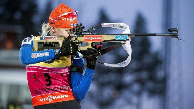 Finská biatlonistka Kaisa Mäkäräinenová ovládla sprint Světového poháru v Hochfilzenu.