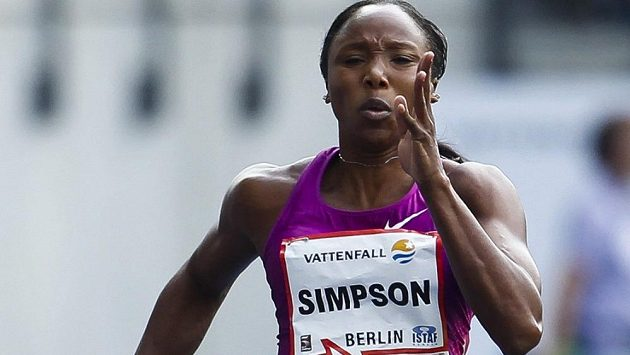 Jednou z dopingových hříšnic byla i členka stříbrné štafety z olympiády v Londýně Sherone Simpsonová.