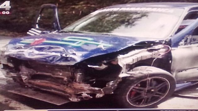 Sprintrallye v Guimaraesi ukončila tragická nehoda.