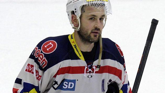 Chomutovský hokejista Lukáš Pulpán.