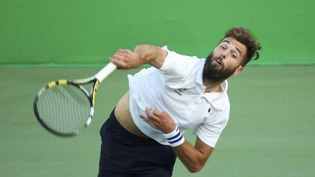 Francouzský tenista Benoit Paire.