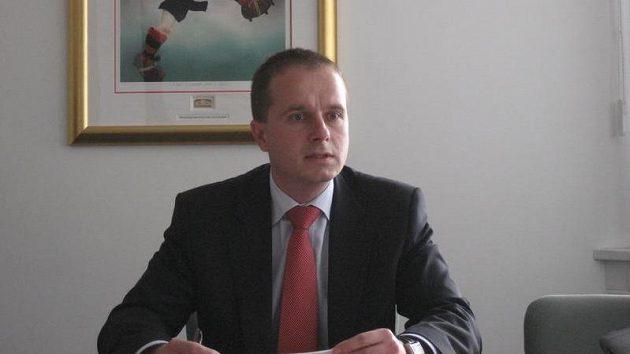 Předseda fotbalové disciplinárky Jiří Golda.